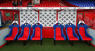 Picture by David Horn/Focus Images Ltd +44 7545 970036<br /> 09/11/2013<br /> General View of Selhurst park showing the away team dug out before the Barclays Premier League match at Selhurst Park, London.