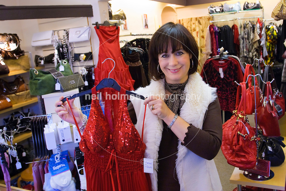 Sue Sissons who runs a ladies outfitters CoCo, the shop has been run by Sue and her mum for 30 years