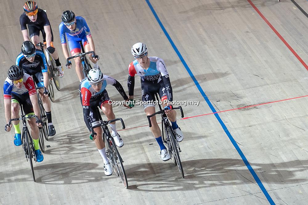 30-12-2018: Wielrennen: NK Baan: Apeldoorn<br />Mikael Zijlaard, Daan Hoole,