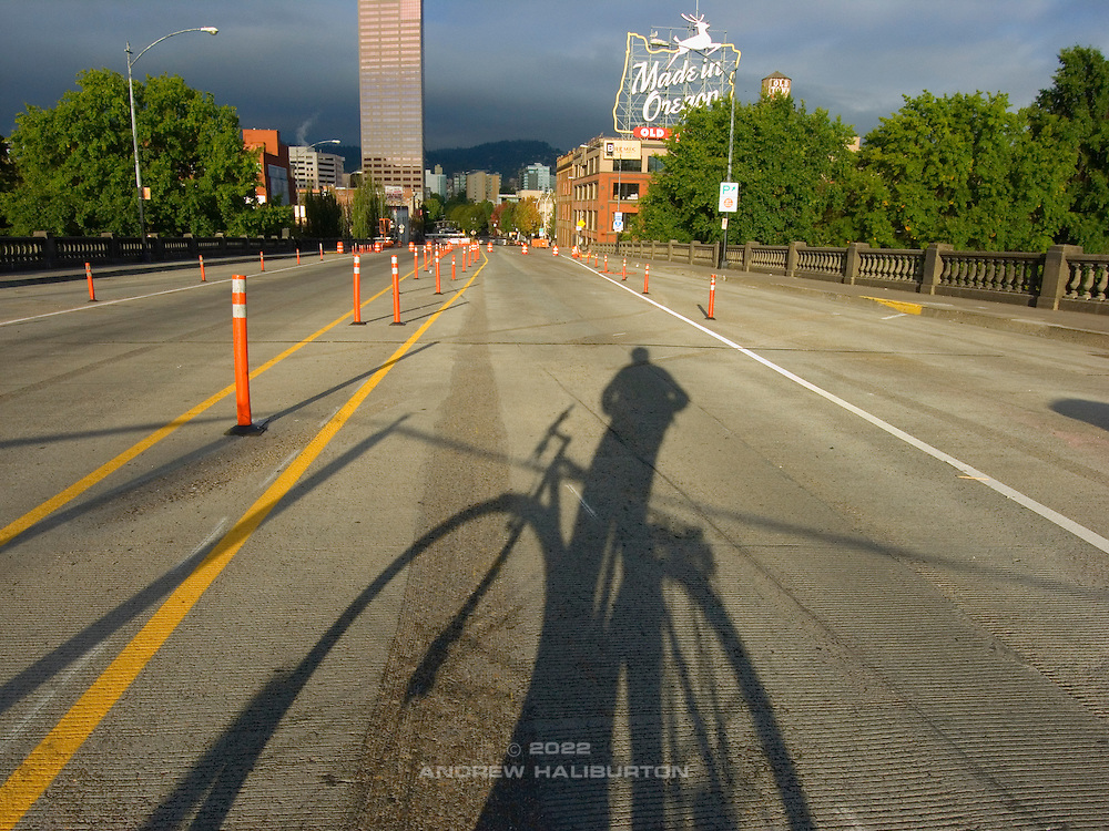 Bicycle commuting in Portland