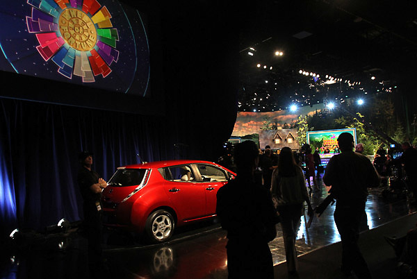 A taping of the Wheel of Fortune television show at the Oregon Convention Center in Portland on Monday, April 2, 2012.