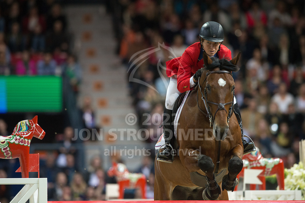 Beezie Madden (USA) & Simon - Rolex World Cup Jumping Final R3/2 - Gothenburg Horse Show 2013 - Scandinavium, Gothenburg, Sweden - 28 April 2013