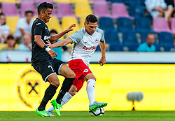 19.07.2017, Red Bull Arena, Salzburg, AUT, UEFA CL, FC Salzburg vs Hibernians FC, Qualifikation, 2. Runde, Rückspiel, im Bild Jackson Lima (Hibernians), Christoph Leitgeb (FC Red Bull Salzburg) // during the UEFA Championsleague Qualifier 2nd round, 2nd leg match between FC Salzburg and Hibernians FC at the Red Bull Arena in Salzburg, Austria on 2017/07/19. EXPA Pictures © 2017, PhotoCredit: EXPA/ JFK