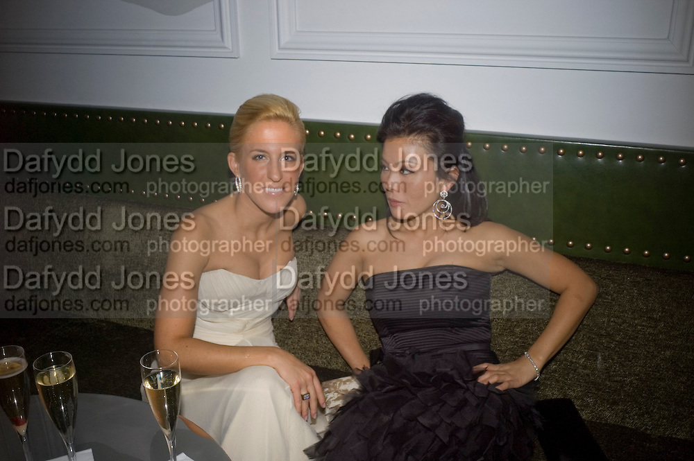 Vanessa Miedler and Joanne Leigh. Weinstein Bafta after-party in association with Chopard. Bungalow 8. London. 10  February 2008.  *** Local Caption *** -DO NOT ARCHIVE-© Copyright Photograph by Dafydd Jones. 248 Clapham Rd. London SW9 0PZ. Tel 0207 820 0771. www.dafjones.com.