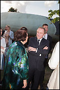 SUSIE MENKES; Francois-Henri Pinault ; , 2014 Serpentine's summer party sponsored by Brioni.with a pavilion designed this year by Chilean architect Smiljan Radic  Kensington Gdns. London. 1July 2014