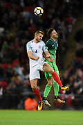 England midfielder Eric Dier during the FIFA World Cup Qualifier match between England and Slovenia at Wembley Stadium, London, England on 5 October 2017. Photo by Martin Cole.