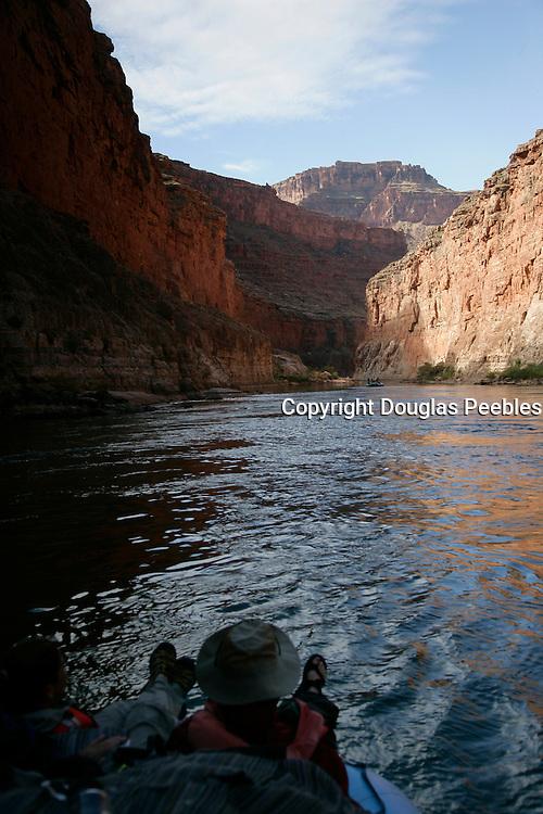 The Grand Canyon, Arizona.Rafting, Colorado River, The Grand Canyon, Arizona.
