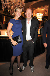 SIMON & SANTA SEBAG-MONTEFIORE at a party to celebrate the publication of Inheritance by Tara Palmer-Tomkinson at Asprey, 167 New Bond Street, London on 28th September 2010.