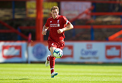 LONDON, ENGLAND - Saturday, September 29, 2018: Liverpool's captain Matty Virtue during the Under-23 FA Premier League 2 Division 1 match between Chelsea FC and Liverpool FC at The Recreation Ground. (Pic by David Rawcliffe/Propaganda)