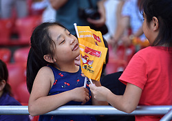 28-08-2015 CHN: IAAF World Championships Athletics day 7, Beijing<br /> High jump Decathlon / Chinees support<br /> Photo by Ronald Hoogendoorn / Sportida
