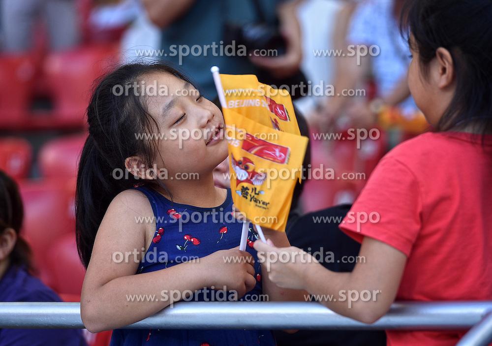 28-08-2015 CHN: IAAF World Championships Athletics day 7, Beijing<br /> High jump Decathlon / Chinees support<br /> Photo by Ronald Hoogendoorn / Sportida