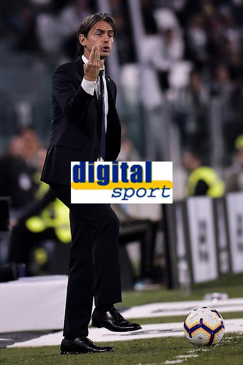 Juventus vs Bologna - Serie A Tim<br /> 2018 09 26 Torino<br /> Federico Tardito/ ONE+NINE Images<br /> Nella foto: Filippo inzaghi<br /> Torino 26-09-2018 Allianz Stadium Football Calcio Serie A 2018/2019 Juventus - Bologna  <br /> Foto OnePlusNine / Insidefoto