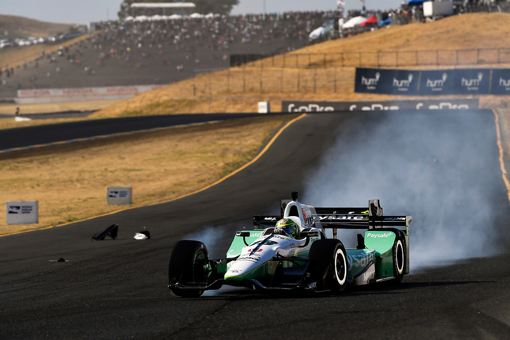 Verizon IndyCar Series<br /> GoPro Grand Prix of Sonoma<br /> Sonoma Raceway, Sonoma, CA USA<br /> Sunday 17 September 2017<br /> Zachary Claman DeMelo, Rahal Letterman Lanigan Racing Honda<br /> World Copyright: Scott R LePage<br /> LAT Images<br /> ref: Digital Image lepage-170917-son-11096