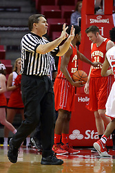 26 November 2016:  Paul Janssen during an NCAA  mens basketball game between the Ferris State Bulldogs the Illinois State Redbirds in a non-conference game at Redbird Arena, Normal IL
