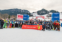 25.01.2020, Streif, Kitzbühel, AUT, FIS Weltcup Ski Alpin, im Bild Teamfoto Charity Race // Teamfoto Charity Race during the KitzCharityTrophy 2020 at the Streif in Kitzbühel, Austria on 2020/01/25. EXPA Pictures © 2020, PhotoCredit: EXPA/ Stefan Adelsberger