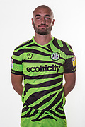 Forest Green Rovers Farrend Rawson(6) during the official team photocall for Forest Green Rovers at the New Lawn, Forest Green, United Kingdom on 29 July 2019.