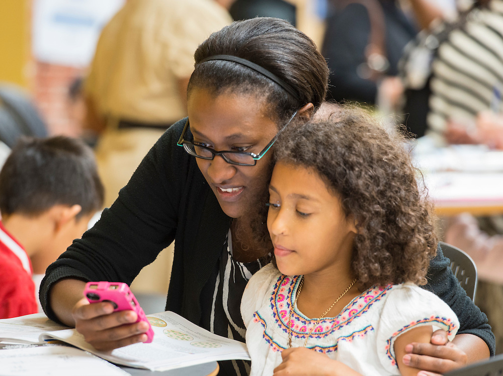 Global Graduate Family Learning Academy at Long Academy, October 17, 2015.