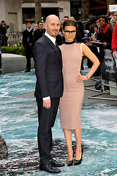 (L-R) Darren Aronofsky with Brandi-Ann Milbradt arrives for the UK premiere of the film 'Noah', Odeon, London, United Kingdom. Monday, 31st March 2014. Picture by Chris Joseph / i-Images