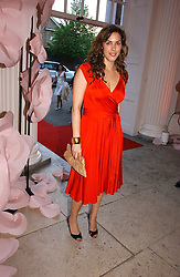 JESSICA DE ROTHSCHILD at a party to celebrate the opening of Roger Vivier in London held at The Orangery, Kensington Palace, London on 10th May 2006.<br />