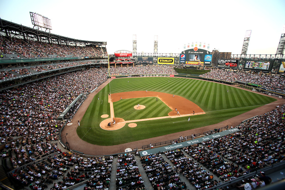 White Sox game at U.S. Cellular Field, in Chicago, Illinois.