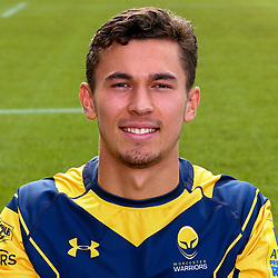 Nick David of Worcester Warriors - Mandatory by-line: Robbie Stephenson/JMP - 25/08/2017 - RUGBY - Sixways Stadium - Worcester, England - Worcester Warriors Headshots
