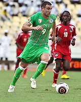 FOOTBALL - AFRICAN NATIONS CUP 2010 - GROUP A - MALAWI v ALGERIA - 11/01/2010 - PHOTO MOHAMED KADRI / DPPI - ABDELKADER GHEZZAL (ALG)
