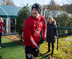 CARDIFF, WALES - Monday, November 18, 2019: Wales' Tom Lockyer during a training session at the Vale Resort ahead of the final UEFA Euro 2020 Qualifying Group E match against Hungary. (Pic by David Rawcliffe/Propaganda)