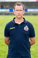 Waasland-Beveren's physical coach Werner Martens poses during the 2015-2016 season photo shoot of Belgian first league soccer team Waasland-Beveren, Tuesday 07 July 2015 in Beveren-Waas.