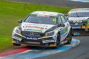 Daniel ROWBOTTOM (GBR)(#32) of Cataclean Racing with Ciceley Motorsport exits chicane during Round 22 of the 2019 British Touring Car Championship at Knockhill Racing Circuit, Dunfermline, Scotland on 15 September 2019.