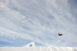 25 JAN 2012: The ESPN Winter X Games 16 held at Buttermilk Mountain in Aspen, CO. (Joshua Duplechian)
