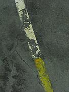 Strassenmarkierung, marquage. © Romano P. Riedo