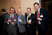 JEAN-CLAUD BRETON; STUART GILLIES; SIMON GREGORY; ALEX PICHFORD, Streetsmart Reception at 11 Downing St. London. 1 November 2011. <br /> <br />  , -DO NOT ARCHIVE-© Copyright Photograph by Dafydd Jones. 248 Clapham Rd. London SW9 0PZ. Tel 0207 820 0771. www.dafjones.com.