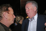 Nicky Haslam and Lord Hesketh. Conservative fund raising dinner hosted  by Marco Pierre White and Franki Dettori at  Frankie's. Knightsbridge. 17 January 2004. ONE TIME USE ONLY - DO NOT ARCHIVE  © Copyright Photograph by Dafydd Jones 66 Stockwell Park Rd. London SW9 0DA Tel 020 7733 0108 www.dafjones.com