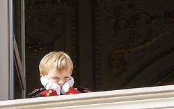 November 19, 2019, Monaco, Monaco: 19-11-2019 Monte Carlo Royal princely family during the Monaco national day celebrations in Monaco. Prince Jacques (Credit Image: © face to face via ZUMA Press)