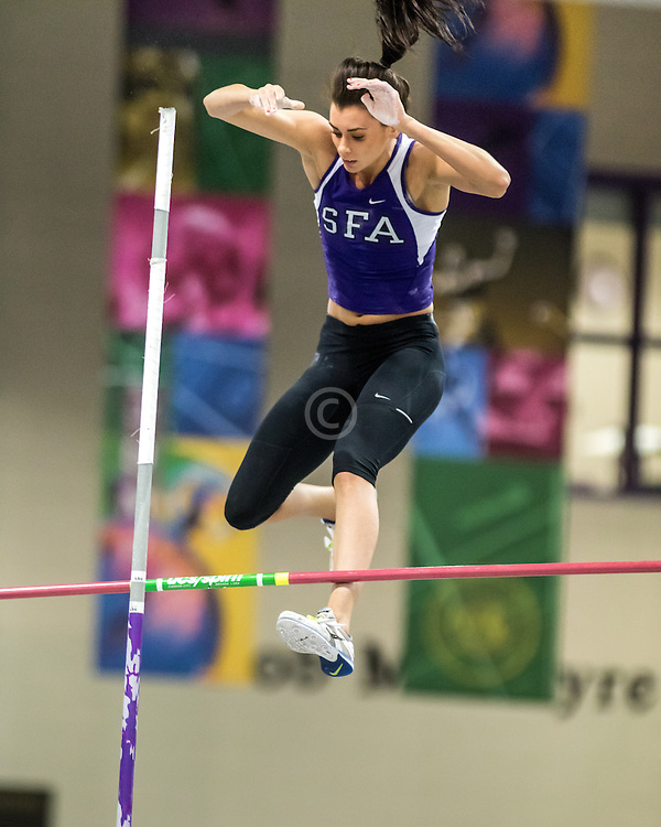 USATF Indoor Track & Field Championships: womens pole vault, Demi Payne