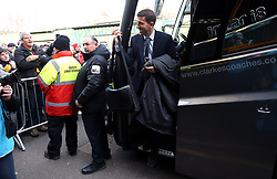 Watford manager Javi Gracia arrives for the Premier League match at Vicarage Road, Watford.