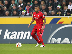 05.12.2015, Stadion im Borussia Park, Moenchengladbach, GER, 1. FBL, Borussia Moenchengladbach vs FC Bayern Muenchen, 15. Runde, im Bild Jerome Boateng (#17, FC Bayern Muenchen), Borussia Moenchengladbach - FC Bayern Muenchen, Fussball, 1. Bundesliga, 05.12.2015, Foto: Deutzmann/Eibner // during the German Bundesliga 15th round match between Borussia Moenchengladbach and FC Bayern Muenchen at the Stadion im Borussia Park in Moenchengladbach, Germany on 2015/12/05. EXPA Pictures © 2015, PhotoCredit: EXPA/ Eibner-Pressefoto/ Deutzmann<br /> <br /> *****ATTENTION - OUT of GER*****