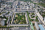 Sarcelles, département du Val-d'Oise (95), le grand stade+Sarcelles Lochères