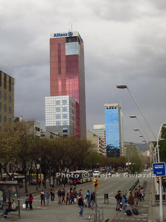 Skyscrapers, Barcelona