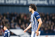 West Bromwich Albion (26) Ahmed Hegazi during the Premier League match between West Bromwich Albion and Crystal Palace at The Hawthorns, West Bromwich, England on 2 December 2017. Photo by Sebastian Frej.