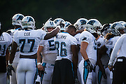 August 19, 2015 - Carolina Panthers Training Camp: Panthers' Huddle