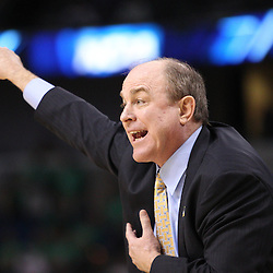 Mar 17, 2011; Tampa, FL, USA; UCLA Bruins head coach Ben Howland during the second half of the second round of the 2011 NCAA men's basketball tournament against the Michigan State Spartans at the St. Pete Times Forum. UCLA defeated Michigan State 78-76.  Mandatory Credit: Derick E. Hingle
