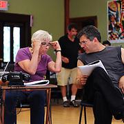 Brenda Bufalino (Vera) and Josh Hilberman (Rodney The Ridiculous)