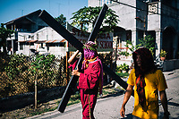 The Holy Week processions in Pampagna, the Philippines.