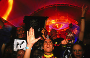 Fans of DJ Paul Van Dyke at Gatecrasher, UK, 2000's