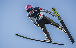 30.09.2018, Energie AG Skisprung Arena, Hinzenbach, AUT, FIS Ski Sprung, Sommer Grand Prix, Hinzenbach, im Bild Pius Paschke (GER) // Pius Paschke of Germany during FIS Ski Jumping Summer Grand Prix at the Energie AG Skisprung Arena, Hinzenbach, Austria on 2018/09/30. EXPA Pictures © 2018, PhotoCredit: EXPA/ JFK