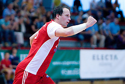 Rok Terzan of Slovan at handball match of MIK 1st Men league between RD Slovan and RK Gorenje Velenje, on May 16, 2009, in Arena Kodeljevo, Ljubljana, Slovenia. Gorenje won 27:26. (Photo by Vid Ponikvar / Sportida)