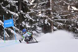 NATSUME Kenji LW11 JPN at 2018 World Para Alpine Skiing World Cup, Veysonnaz, Switzerland