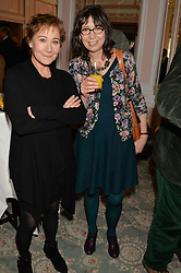 Left to right, ZOE WANAMAKER and LAURA GASCOIGNE at the Oldie Magazine's Oldie of The Year Awards held at Simpson's In The Strand, London on 4th February 2014.