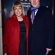 London, England, UK. 23 January 2018. Fay Ripley Arrivers at Beginning - press night at Ambassadors Theatre.